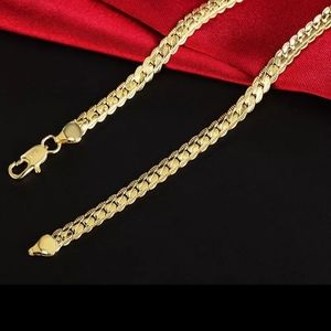"""18k gold filled chain new 20"""""""